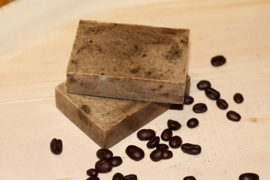 hazelnut coffee vanilla soap